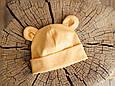 """Набор шапка с манишкой """"Bruin"""", горчичная, фото 5"""