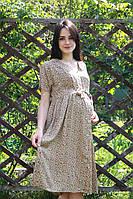 Платье штапель принт для беременных 6135-2, фото 1