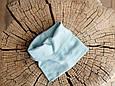 """Набор шапка с манишкой """"Bruin"""", сизый, фото 6"""