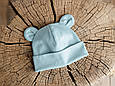 "Набір шапка з манишкою ""Bruin"", сизий, фото 5"