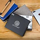 Чоловічий гаманець BETLEWSKI з RFID 9.5 х 11.5 х 1.8 (BPM-GTN-66) - сірий, фото 3