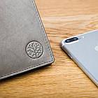 Чоловічий гаманець BETLEWSKI з RFID 9.5 х 11.5 х 1.8 (BPM-GTN-66) - сірий, фото 4