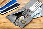 Чоловічий гаманець BETLEWSKI з RFID 9.5 х 11.5 х 1.8 (BPM-GTN-66) - сірий, фото 5