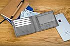 Чоловічий гаманець BETLEWSKI з RFID 9.5 х 11.5 х 1.8 (BPM-GTN-66) - сірий, фото 6