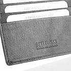 Чоловічий гаманець BETLEWSKI з RFID 9.5 х 11.5 х 1.8 (BPM-GTN-66) - сірий, фото 7
