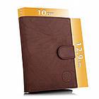 Шкіряний чоловічий гаманець BETLEWSKI з RFID 12,9 х 10 х 2,5 (BPM-GTAN-993) - коричневий, фото 4