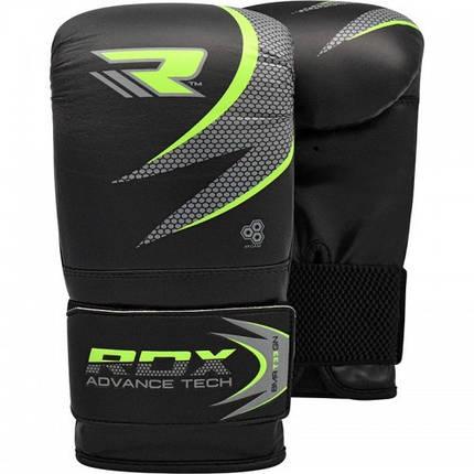 Снарядные перчатки, битки RDX Green, фото 2