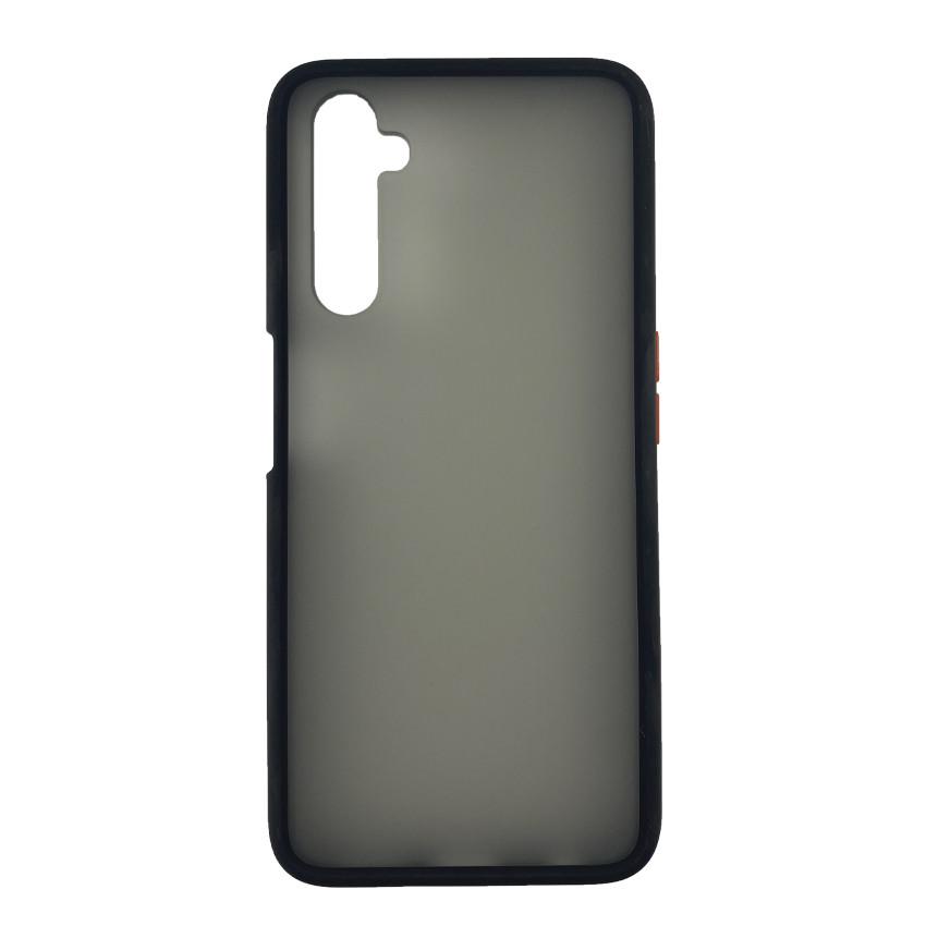 Чехол накладка Goospery Case для Realme 6 Pro Black/Red