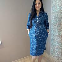 Платье рубашечное для беременных и для кормления 1132-3