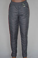 Женские спортивные штаны на синтепоне