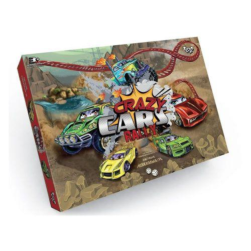 "Настольная развлекательная игра ""Crazy Cars Rally"" DTG93R"