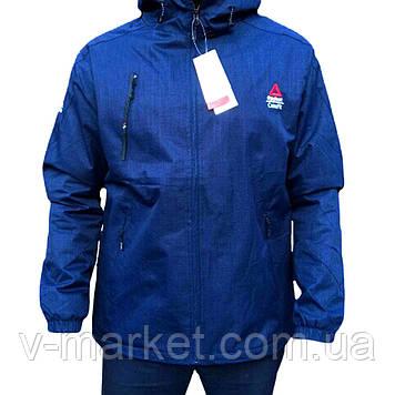 Куртка чоловіча осінь-весна Reebok (рібок) репліка