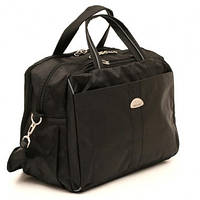Дорожная сумка черная Wallaby 39x25x20 (дорожные сумки, сумки в дорогу)