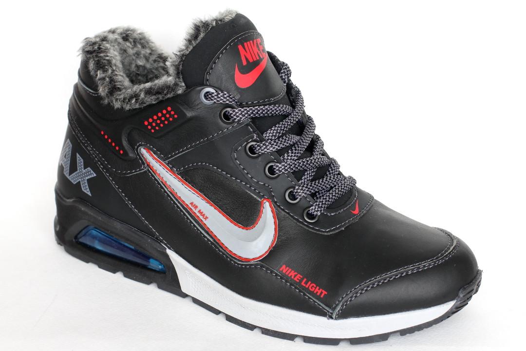 Ботинки Nike черные.
