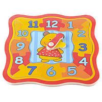Деревянная игрушка часы T22-047