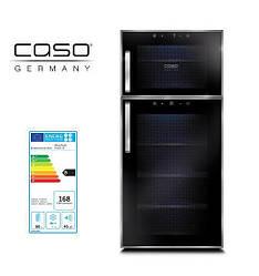 Винный холодильник шкаф CASO WineDuett Touch 21/ STOK без упаковки
