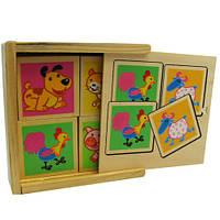 Набор карточек из дерева T22-014