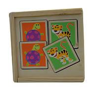 Набор развивающих карточек из дерева T22-015