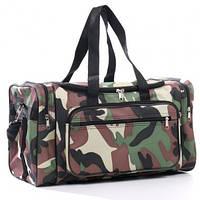 Дорожная сумка хаки Wallaby 44x24x21 (дорожные сумки, сумки в дорогу)