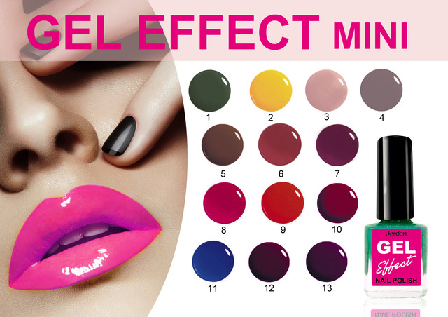 Лак для ногтей Jerden Gel Effect mini
