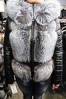 Куртка женская d1638/60 чернобурка