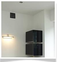 Вентиляционная решетка для камина KRATKI 17х37 см шлифованная с жалюзи, фото 3