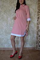"""Платье """"рубашка"""" для беременных 1212-2"""