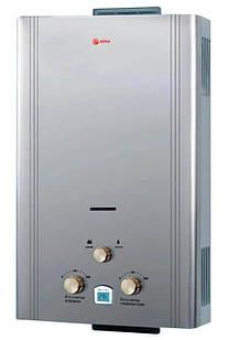 """Газовая колонка Roda JSD20-A6, """"Серебро"""", 20 кBт автоматический розжиг (000026623)"""
