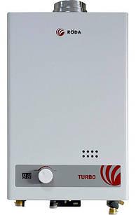 Газовая колонка Roda JSD20-T1 турбо, 20 кBт автоматический розжиг (000026594)
