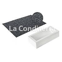 Набор коврик и форма для десертов SILIKOMART TEX05 SET BUCHE (250x90 мм, объем=1300 мл), фото 1