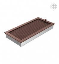 Вентиляционная решетка для камина KRATKI 22х45 см медная с жалюзи (крашеная), фото 3