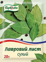 Лист лавровый сухой ТМ Первоцвіт, 20г., фото 1