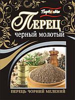Перец черный молотый ТМ Первоцвіт, 10 г, фото 1
