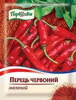Перец красный молотый ТМ Первоцвіт, 15 г, фото 1