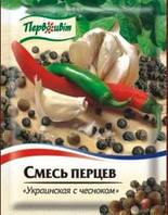 Смесь перцев Украинская с чесноком ТМ Первоцвіт, 20 г., фото 1