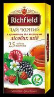 Чай черный с ароматом и листьями лесных ягод ТМ Richfield, 50г, фото 1