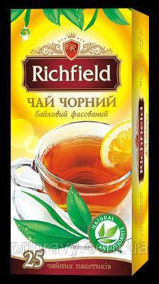 Чай черный байховый фасованный ТМ Richfield, 40г