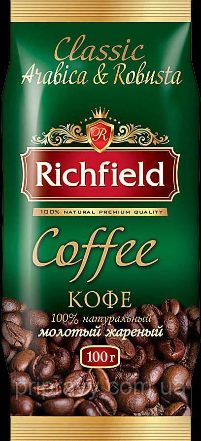Кофе Арабика-Робуста молотый ТМ Richfeild, 200 г