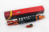 Амортизатор GY6 330mm (оранжево-черный)