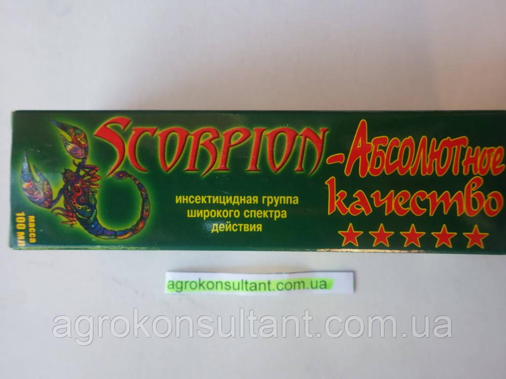 Инсектицид Скорпион (100мл) — сила против почвенных вредителей!! Медведка, проволочник,личинка майского жука