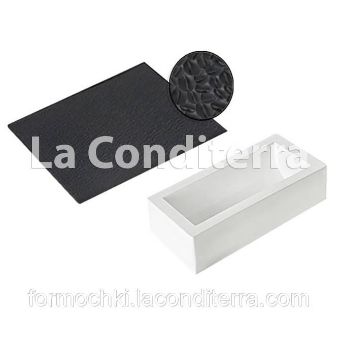Набор коврик и форма для десертов SILIKOMART TEX06 SET BUCHE (250x90 мм, объем=1300 мл)