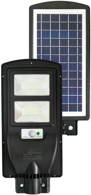 Уличный светильник на солнечной батарее с датчиком движения и аккумулятором 20000mAh LED Solar Street Light 90W UKC 5622