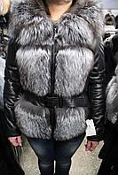 Куртка женская 1326/58 чернобурка