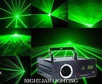 Аренда, прокат зеленого лазера Laser Show System 100mw в Киеве