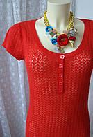 Платье женское ажурное акрил мини бренд H&M р.44 3825