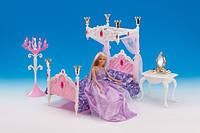 """Набор кукольная мебель Gloria 1214 """"Спальня"""""""