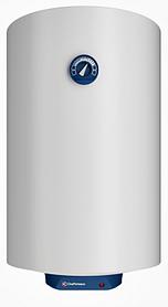 Накопительный электрический бойлер CHAFFOTEAUX CHX 100 V на 100 л белый со скрытым регулятором.
