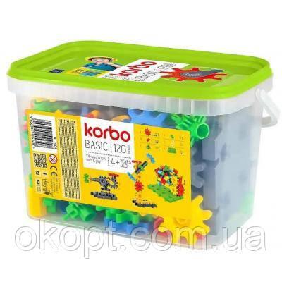 Конструктор Korbo Basic 120 деталей (65912)