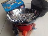 Баллон Пикник Italy Ruddy RK-1,2,3 туристический набор емкостью 2.5,5.0,8.0,12.0л.,портат.газ. примуса Лепесто, фото 2