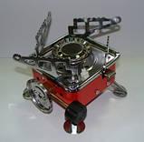 Баллон Пикник Italy Ruddy RK-1,2,3 туристический набор емкостью 2.5,5.0,8.0,12.0л.,портат.газ. примуса Лепесто, фото 3